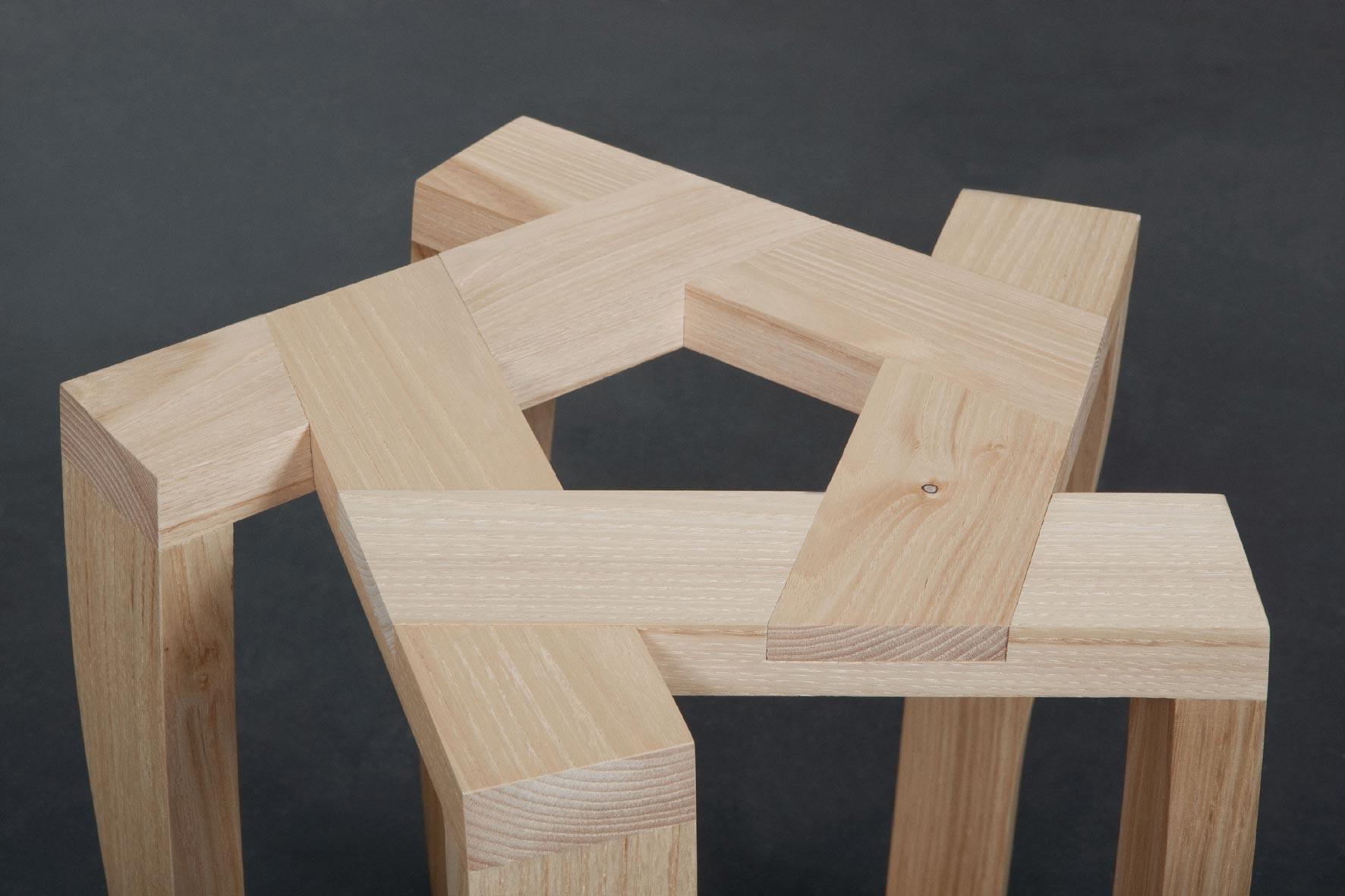 tabouret pentagon la fabrique. Black Bedroom Furniture Sets. Home Design Ideas