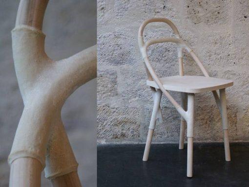 """Chaise """"L'étreinte du Zelfo"""""""